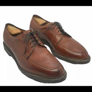 ALLEN EDMONDS Wilbert Brown Oxfords Shoes 10.5 E